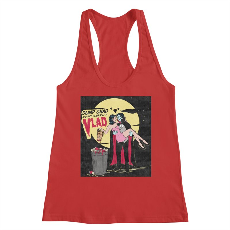 Dump Chad And Get Yourself A Vlad Women's Tank by classycreeps's Artist Shop