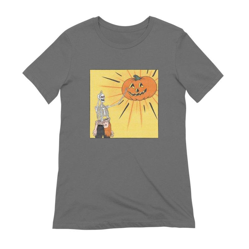 All Hail Halloween Women's T-Shirt by classycreeps's Artist Shop