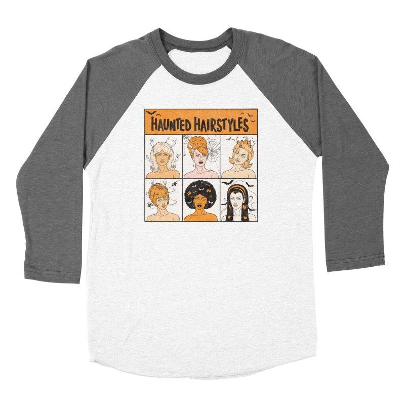 Haunted Hairstyles Women's Longsleeve T-Shirt by classycreeps's Artist Shop