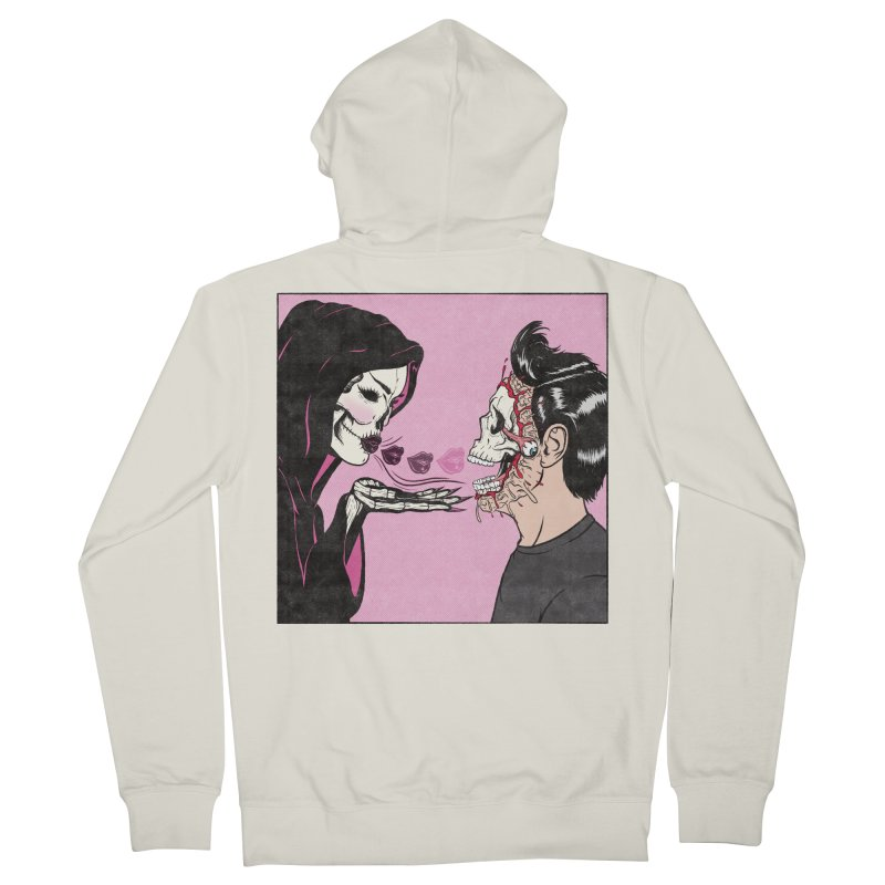 Kiss Of Death Women's Zip-Up Hoody by classycreeps's Artist Shop