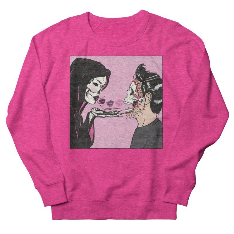 Kiss Of Death Women's Sweatshirt by classycreeps's Artist Shop