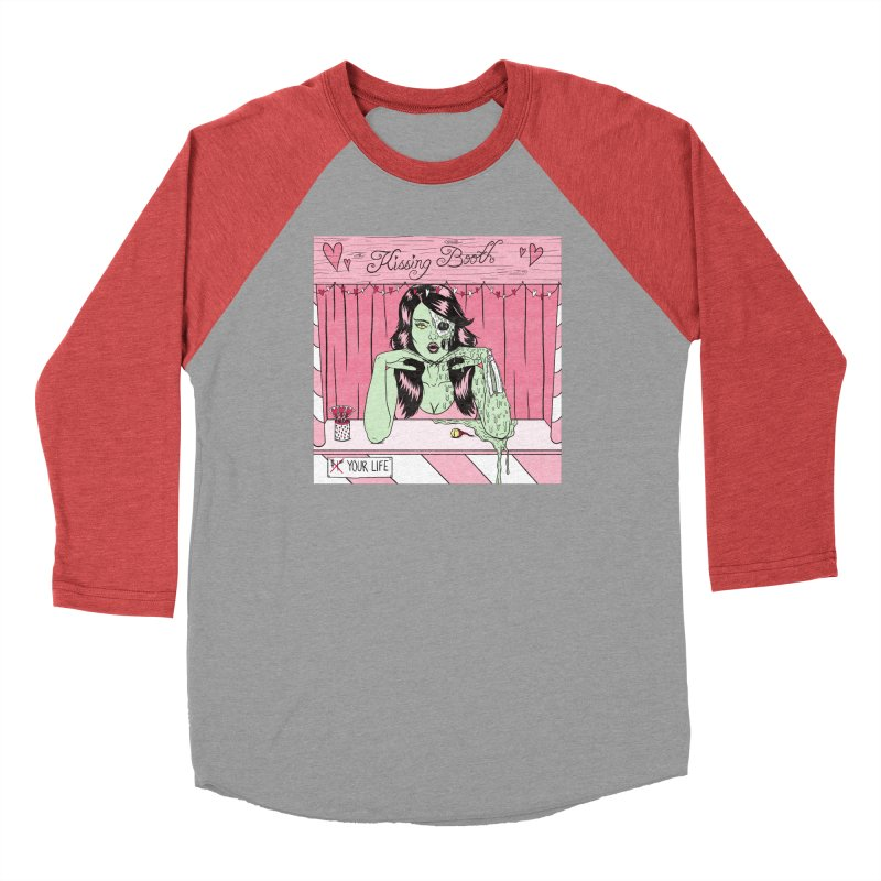 Kissing Booth Men's Longsleeve T-Shirt by classycreeps's Artist Shop