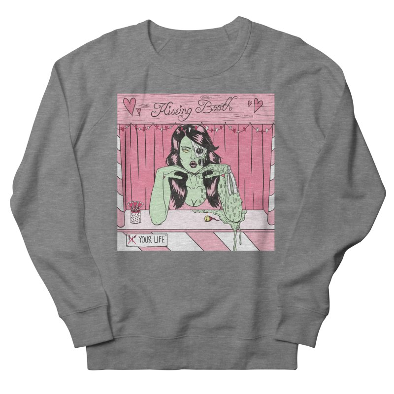 Kissing Booth Men's Sweatshirt by classycreeps's Artist Shop