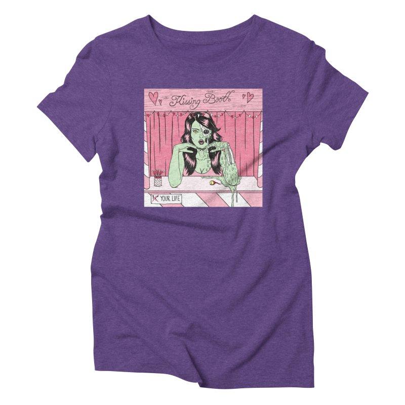 Kissing Booth Women's T-Shirt by classycreeps's Artist Shop