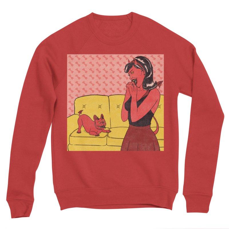 Demon Dog Women's Sweatshirt by classycreeps's Artist Shop