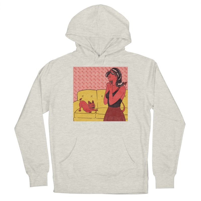 Demon Dog Men's Pullover Hoody by classycreeps's Artist Shop