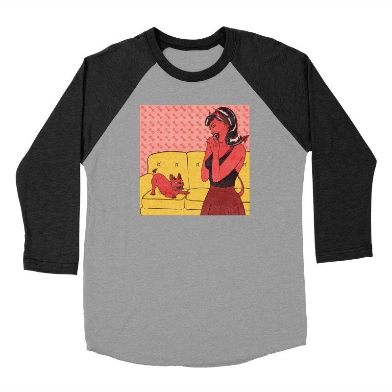 Demon Dog Women's Longsleeve T-Shirt by classycreeps's Artist Shop