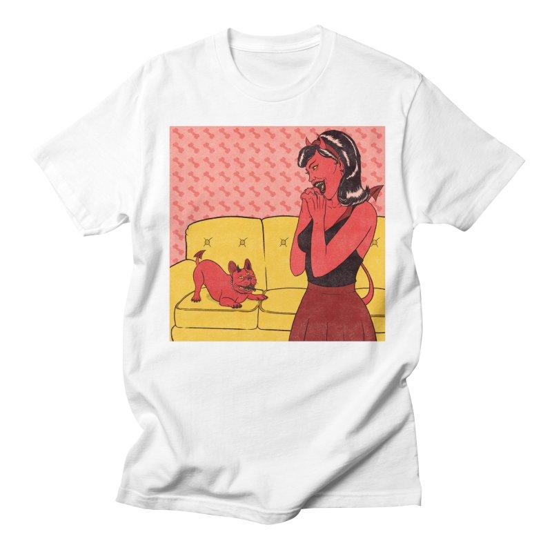 Demon Dog Men's T-Shirt by classycreeps's Artist Shop