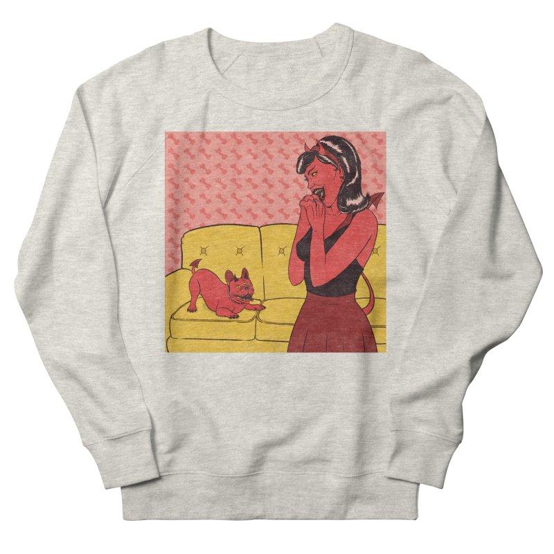 Demon Dog Men's Sweatshirt by classycreeps's Artist Shop