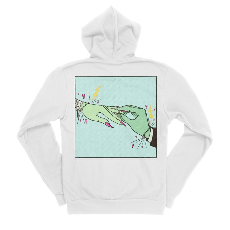 I Married a Monster! Women's Zip-Up Hoody by classycreeps's Artist Shop