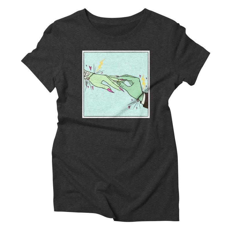 I Married a Monster! Women's T-Shirt by classycreeps's Artist Shop
