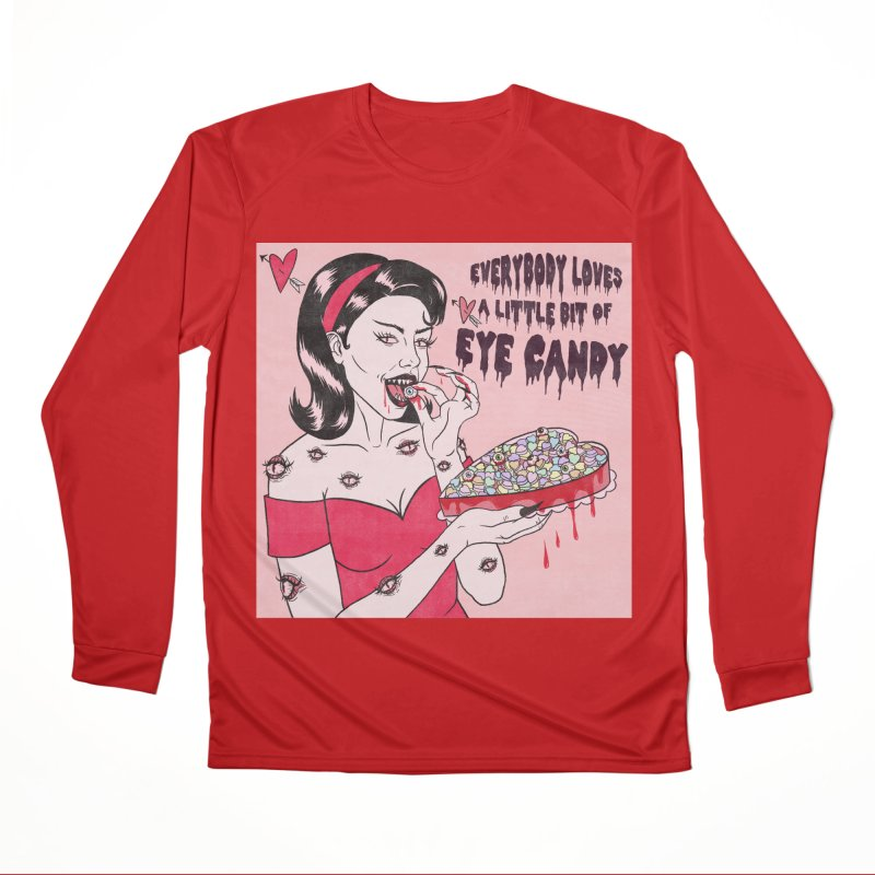 Eye Candy Men's Longsleeve T-Shirt by classycreeps's Artist Shop