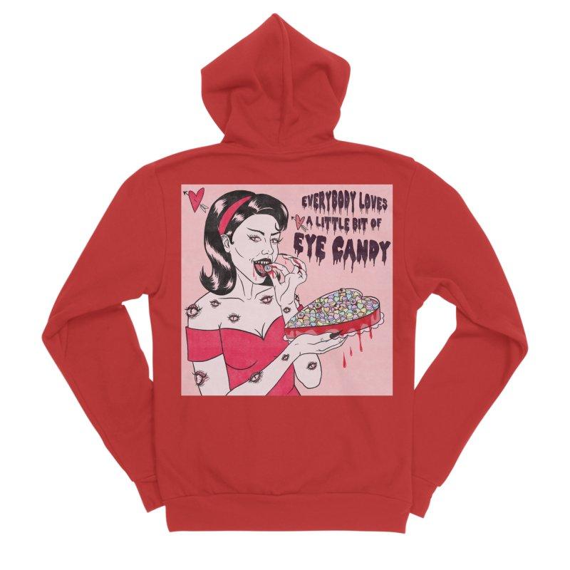 Eye Candy Men's Zip-Up Hoody by classycreeps's Artist Shop