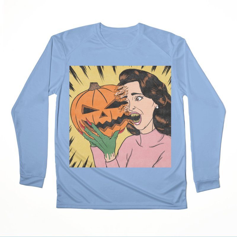 Get Into the Halloween Spirit! Women's Longsleeve T-Shirt by classycreeps's Artist Shop