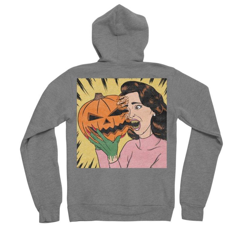 Get Into the Halloween Spirit! Men's Zip-Up Hoody by classycreeps's Artist Shop