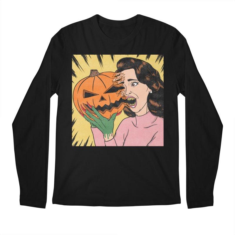 Get Into the Halloween Spirit! Men's Longsleeve T-Shirt by classycreeps's Artist Shop