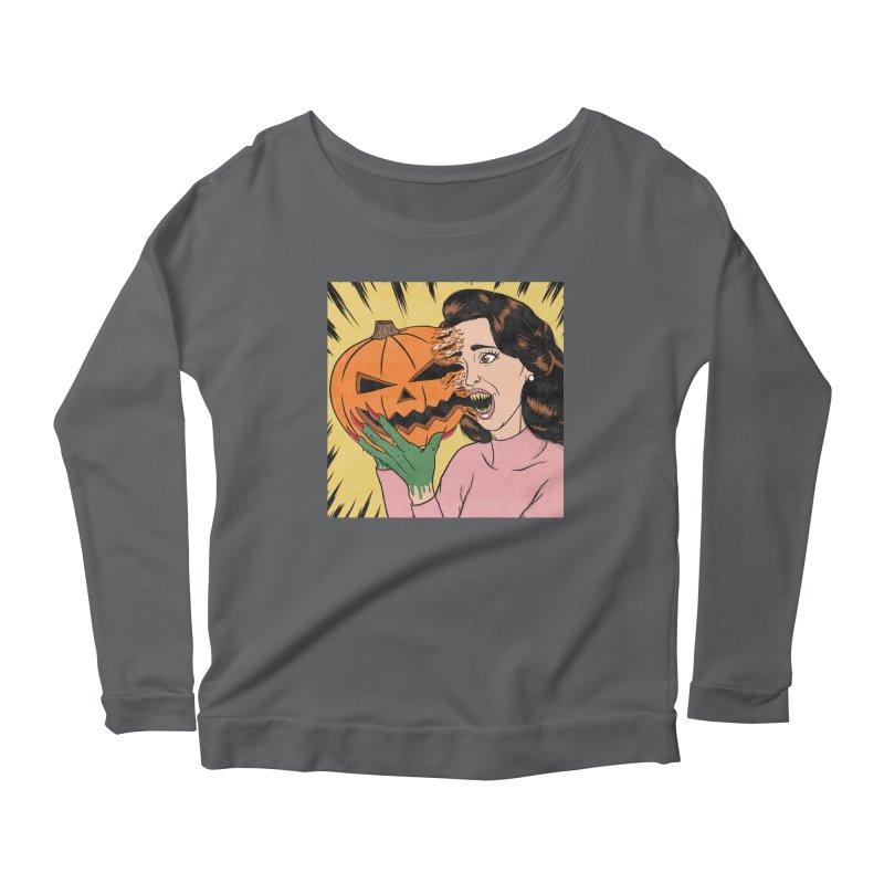 Get Into the Halloween Spirit! Women's Longsleeve T-Shirt by classycreeps's Artist Shop