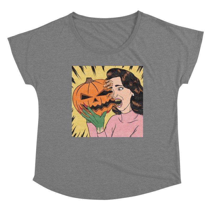 Get Into the Halloween Spirit! Women's Scoop Neck by classycreeps's Artist Shop