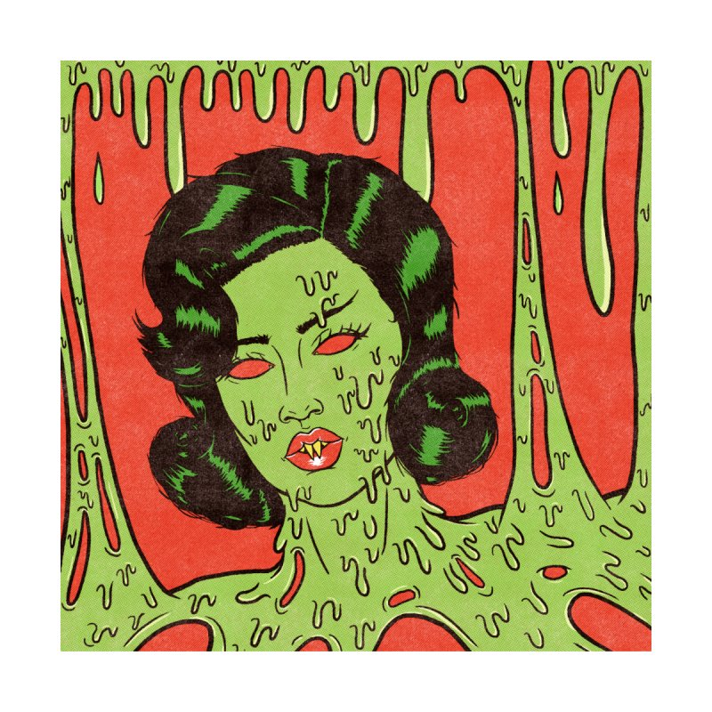 Oozing Slime Women's T-Shirt by classycreeps's Artist Shop