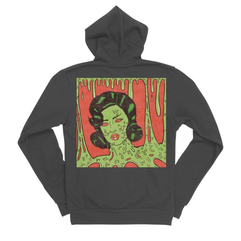 Oozing Slime Women's Zip-Up Hoody by classycreeps's Artist Shop