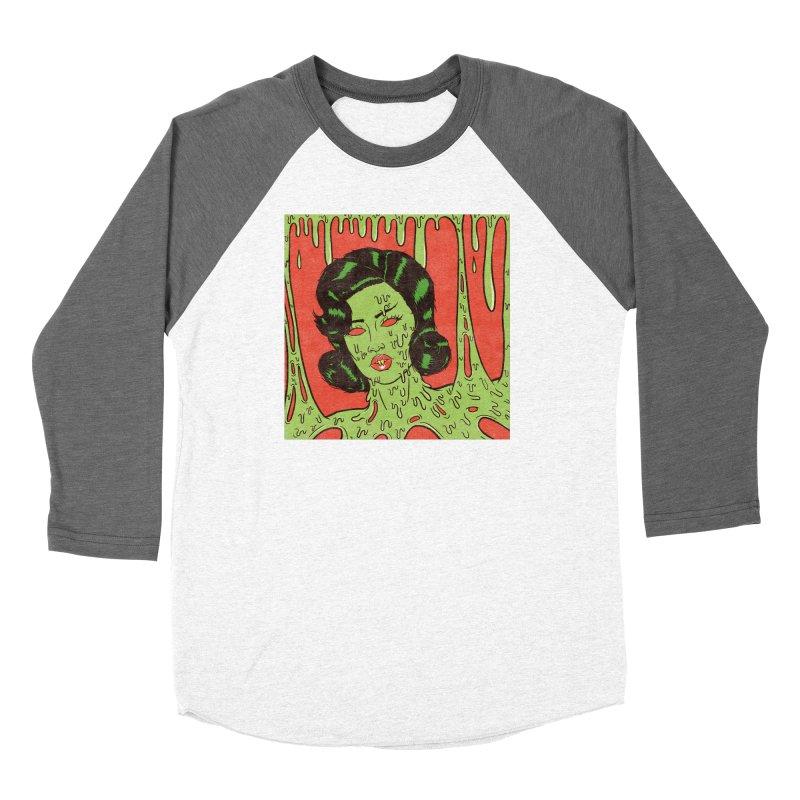Oozing Slime Women's Longsleeve T-Shirt by classycreeps's Artist Shop