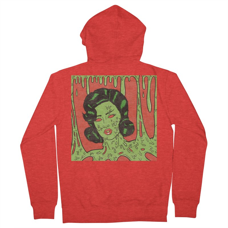 Oozing Slime Women's Zip-Up Hoody by classycreeps's Artist Shop