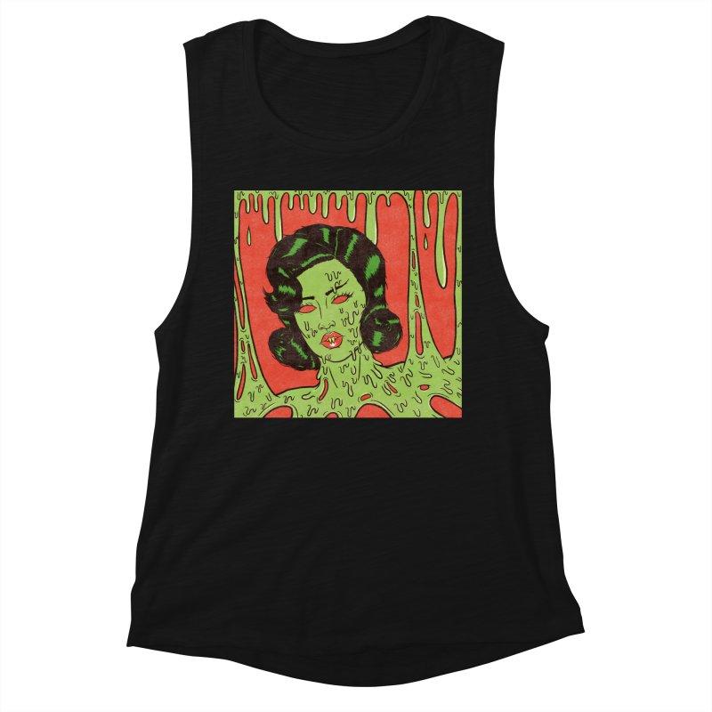 Oozing Slime Women's Tank by classycreeps's Artist Shop