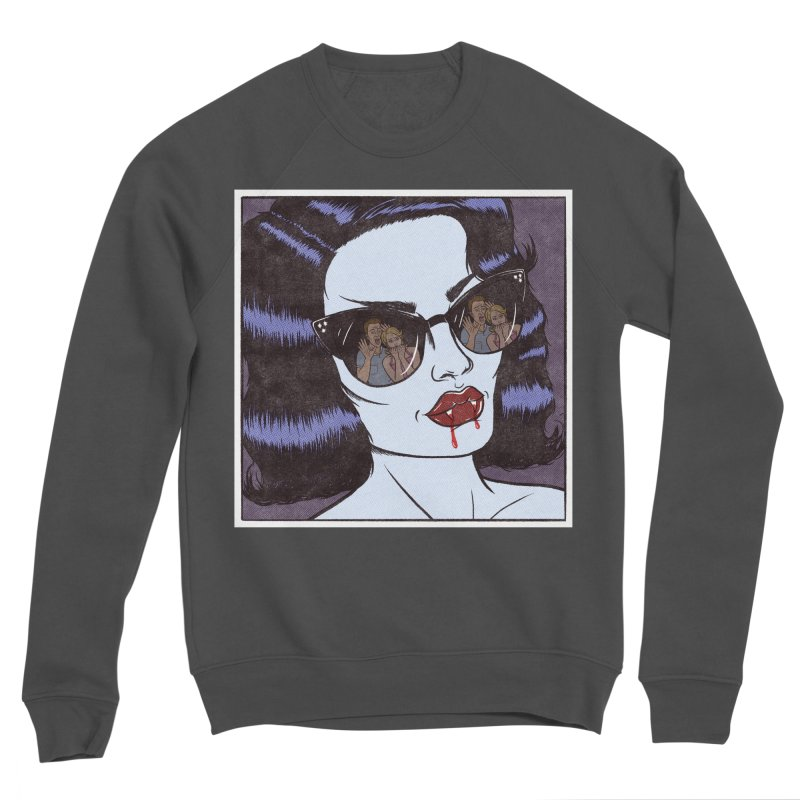 Blood Sucker Women's Sweatshirt by classycreeps's Artist Shop