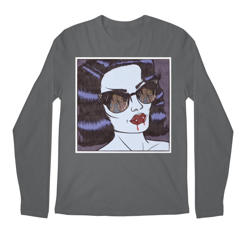 Blood Sucker Men's Longsleeve T-Shirt by classycreeps's Artist Shop