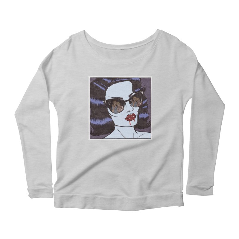 Blood Sucker Women's Longsleeve T-Shirt by classycreeps's Artist Shop