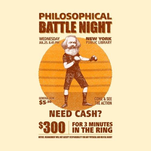 Design for Philosophical Battle Night