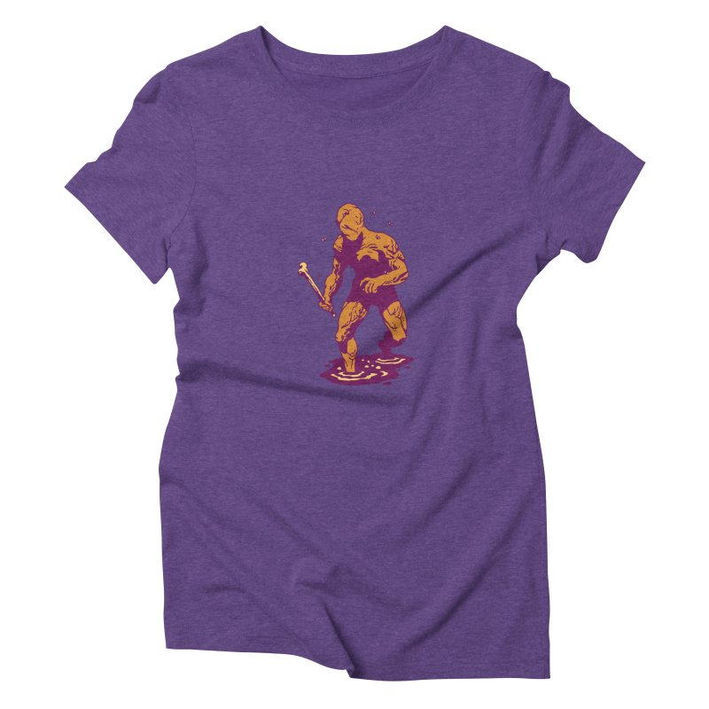 Meat Man Women's Triblend T-Shirt by clavcity's Shop