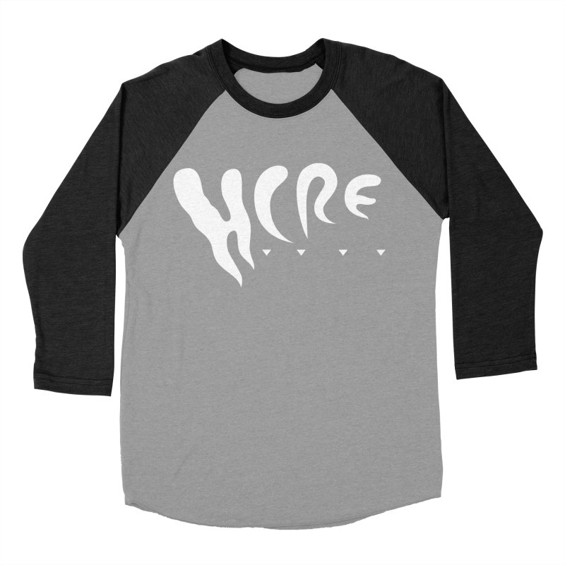 Hermit Crab Real Estate (white) Women's Baseball Triblend Longsleeve T-Shirt by clavcity's Shop