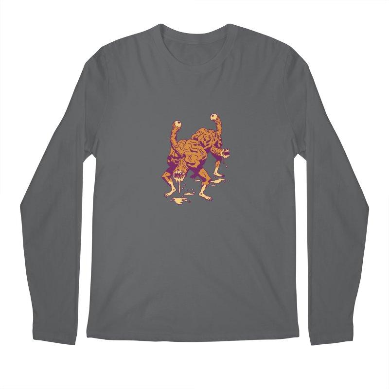 Eyeballers Men's Regular Longsleeve T-Shirt by clavcity's Shop