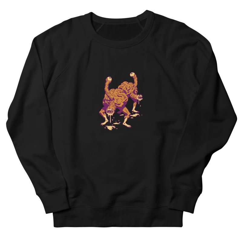 Eyeballers Men's French Terry Sweatshirt by clavcity's Shop