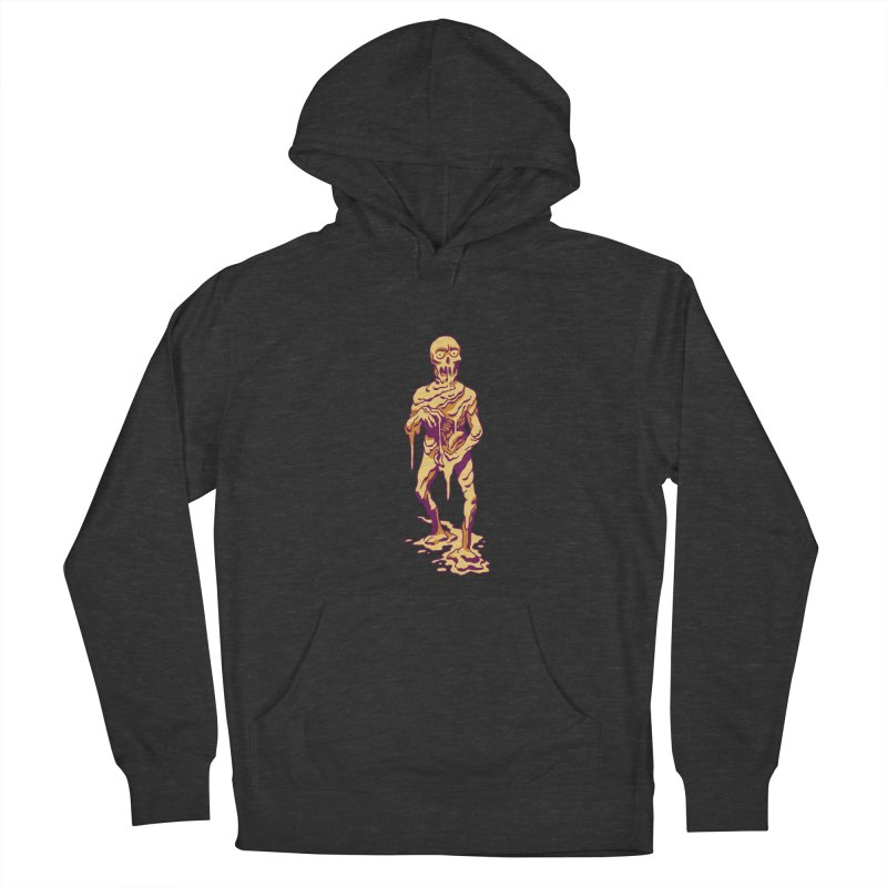 Melting Man Women's French Terry Pullover Hoody by clavcity's Shop