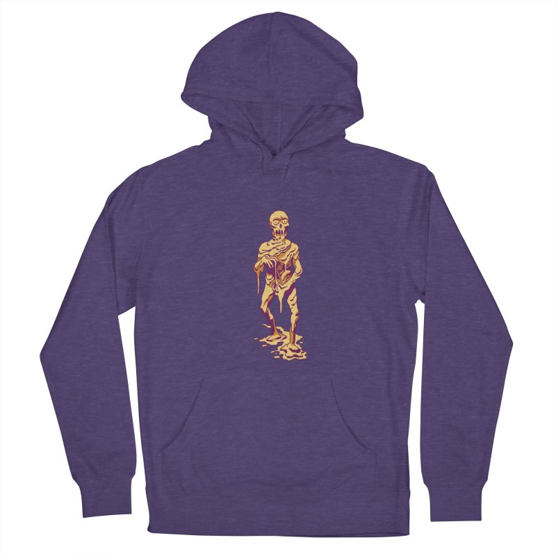 Melting Man Men's Pullover Hoody by clavcity's Shop