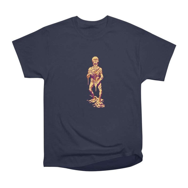 Melting Man Men's Heavyweight T-Shirt by clavcity's Shop