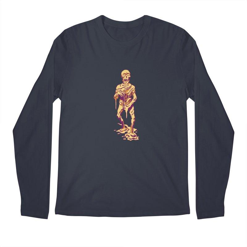 Melting Man Men's Regular Longsleeve T-Shirt by clavcity's Shop