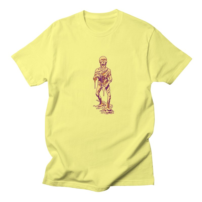 Melting Man Men's Regular T-Shirt by clavcity's Shop
