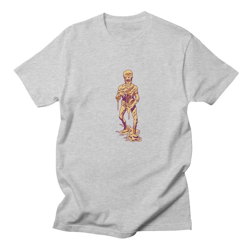 Melting Man Women's Regular Unisex T-Shirt by clavcity's Shop