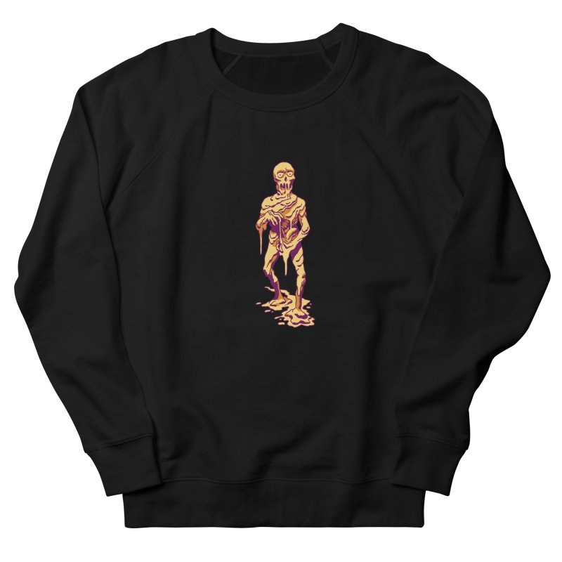 Melting Man Women's French Terry Sweatshirt by clavcity's Shop