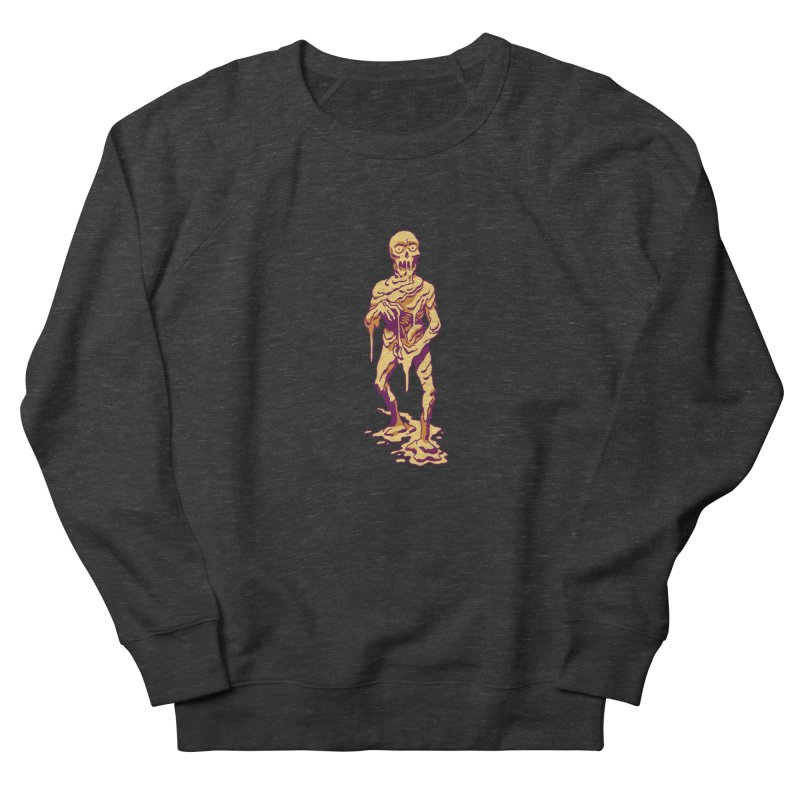 Melting Man Men's Sweatshirt by clavcity's Shop