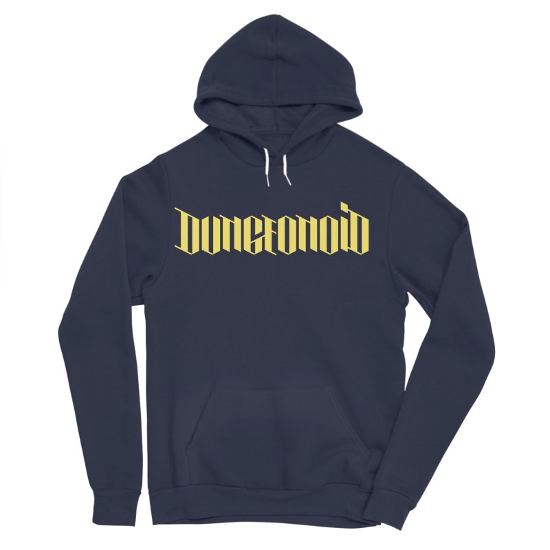 Dungeonoid (wordmark) Men's Sponge Fleece Pullover Hoody by clavcity's Shop