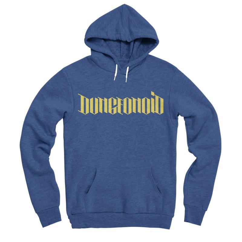 Dungeonoid (wordmark) Men's Sponge Fleece Pullover Hoody by clavcity's Shop