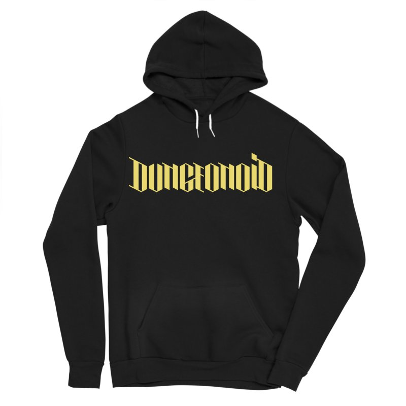 Dungeonoid (wordmark) Women's Sponge Fleece Pullover Hoody by clavcity's Shop