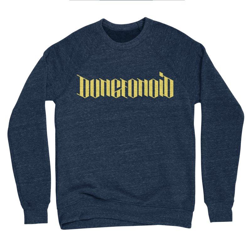 Dungeonoid (wordmark) Men's Sponge Fleece Sweatshirt by clavcity's Shop