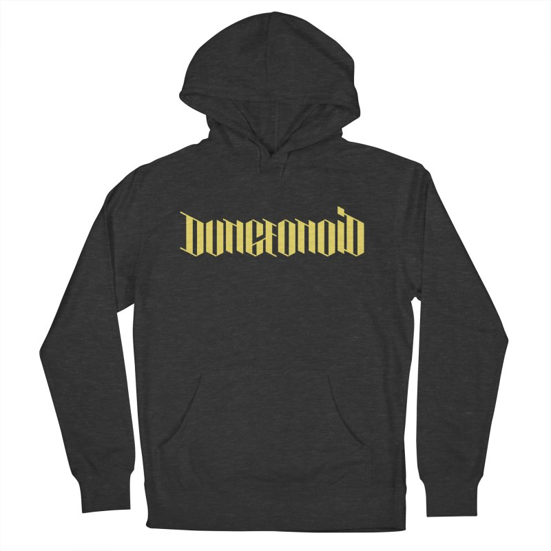 Dungeonoid (wordmark) Women's French Terry Pullover Hoody by clavcity's Shop