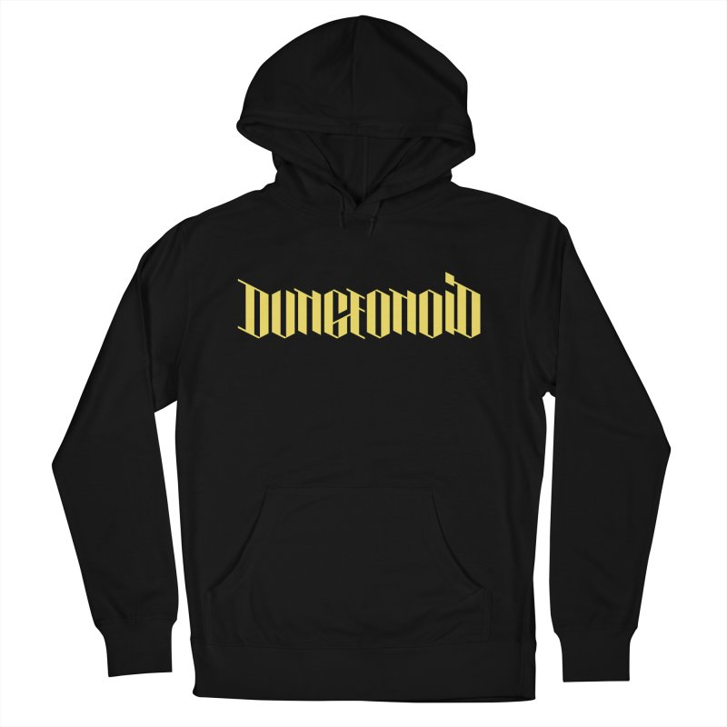 Dungeonoid (wordmark) Men's French Terry Pullover Hoody by clavcity's Shop