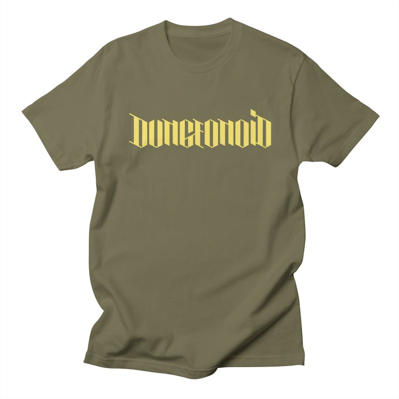 Dungeonoid (wordmark) Men's Regular T-Shirt by clavcity's Shop